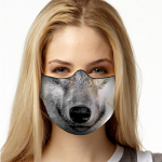Face Mask Print (Wolf)