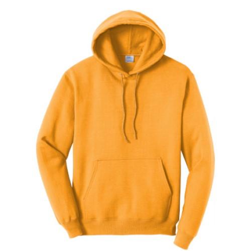 Gold Pullover Hooded Sweatshirt
