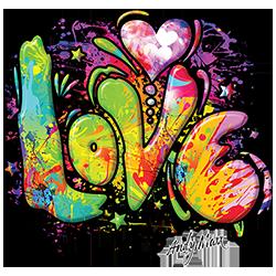 Love (Colorful)