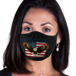 Face Mask Print (Eagle Land of the Free)