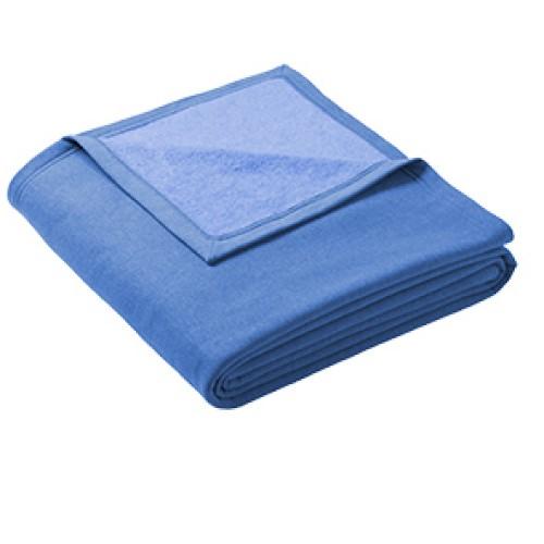 Blanket, Oversized Sweatshirt Blanket (Heather Royal Blue)