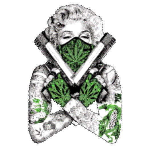Marilyn Monroe (Guns and Weed)