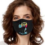 Face Mask Print (Cool Summer Cat)