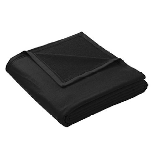 Blanket, Oversized Sweatshirt Blanket (Jet Black)