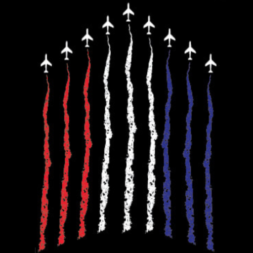 Planes (Red White Blue)