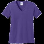 Purple Ladies V-Neck Tee