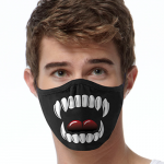 Face Mask Print (Vampire)