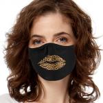 Face Mask Print (Leopard Lips)
