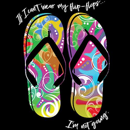 Flip Flops (Colorful)