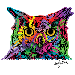 Owl (Colorful)
