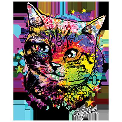 Cat (Colorful)