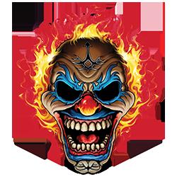 Clown Flames