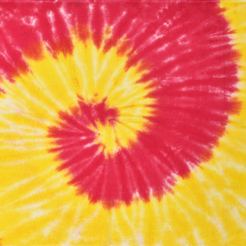 Beach Towel (Yellow and Pink)