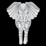 Elephant (Front facing)