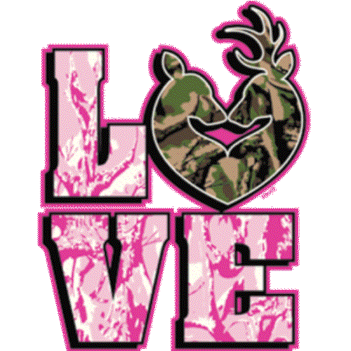 Deer Love (with writing)