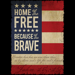Flag (Home of the Free cuz of brave)