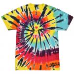 Lava Lamp Adult Tie-Dye T-Shirt