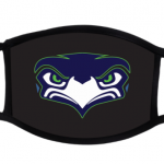 2-ply Custom Facemask (Seahawks Front)