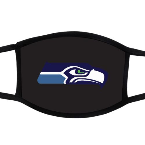 2-ply Custom Facemask (Seahawks Side)