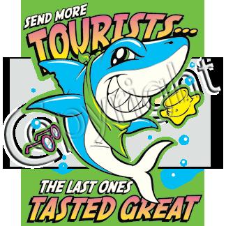 Shark (Send more tourist)