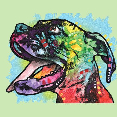 Dog (Colorful)