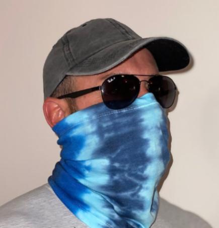 Neck Gaiter (Blue Ocean)
