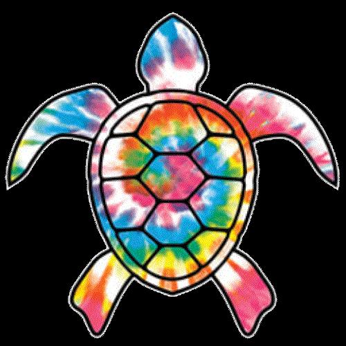 Turtle Tie Dye
