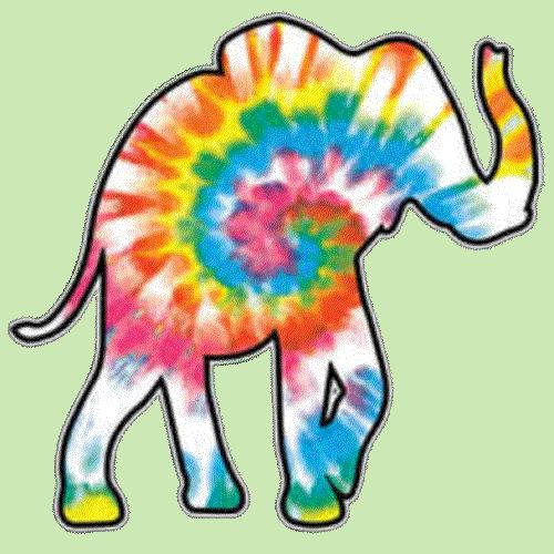 Elephant (Tie Dye)