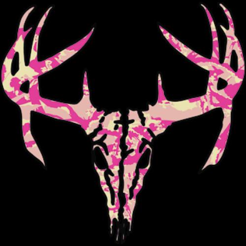 Deer Skull (Pink Camo)