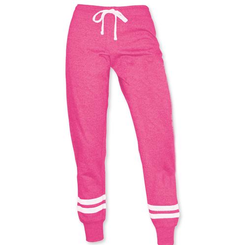 Capri Ladies Sweatpants (Fuchsia)