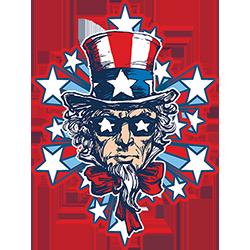 Uncle Sam Explosion