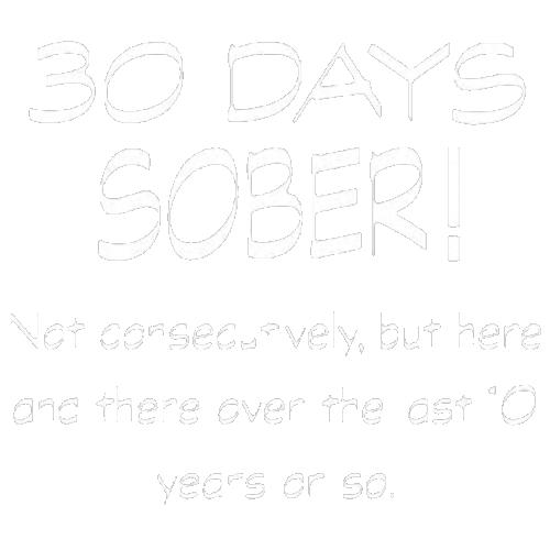 30 Days Sober