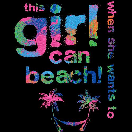 This Girl Can Beach
