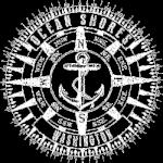 Ocean Shores Compass (W/Anchor)