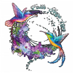 Hummingbirds (Faith Love Hope )