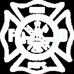 Fire Department (White Pocket Print)