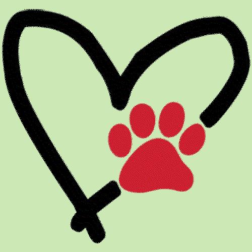 Heart (Dog Paw)