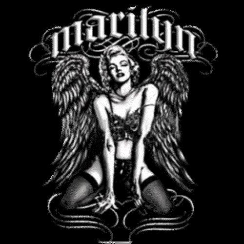 Marilyn Monroe (With Wings)