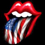 Lips (Tongue – American Flag)