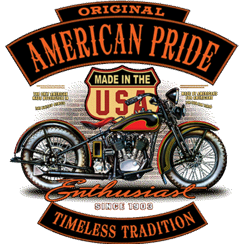 Motorcycle (Enthusiast-American Pride)