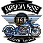 Motorcycle (Timeless Tradition – Blue Made In The USA)