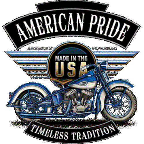 Motorcycle (Timeless Tradition - Blue Made In The USA)
