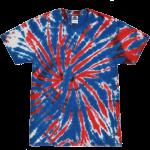 Union Jack Adult Tie-Dye T-Shirt