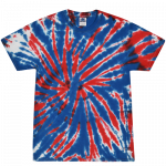 Union Jack Youth Tie Dye Tee