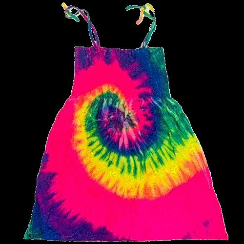 Tie Dye (Dress-Spaghetti Strap)