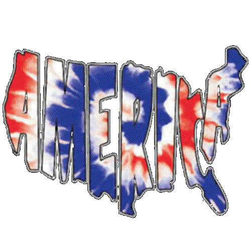 America (Red White Blue Tie Dye)