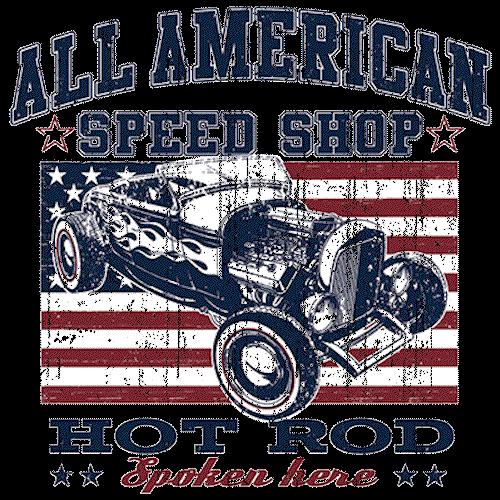 Hot Rod (All American Speed Shop - Car)