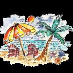 Solar (Beach Umbrella)