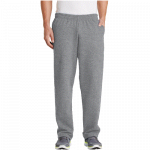 Athletic Heather/Open Cuff Sweatpant with Pockets