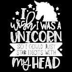 I Wish I Were A Unicorn